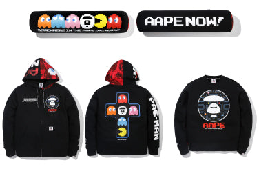 AAPE BY A BATHING APE? x PAC-MAN