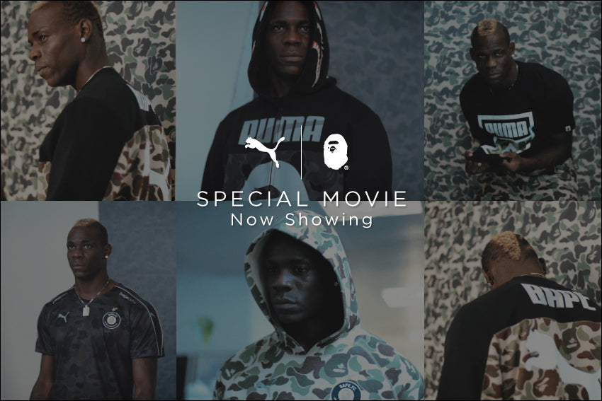 A BATHING APE? X PUMA COLLABORATION SPECIAL MOVIE