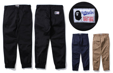 STRETCH TRACK CHINO PANTS