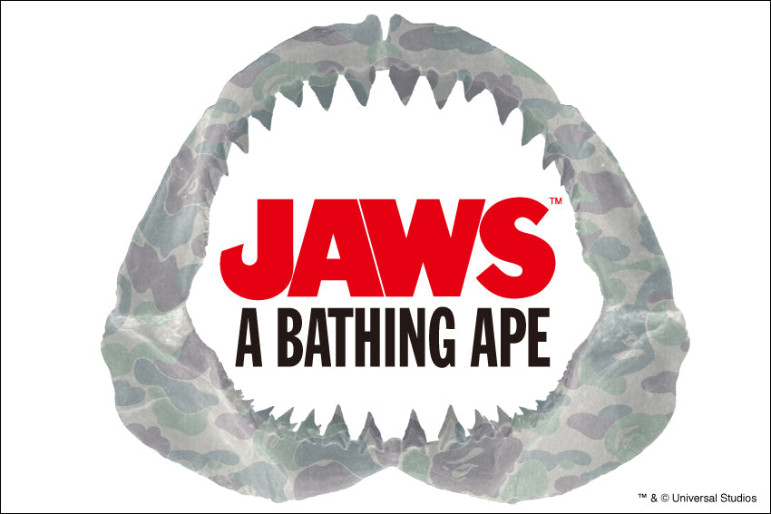 A BATHING APE? x JAWS