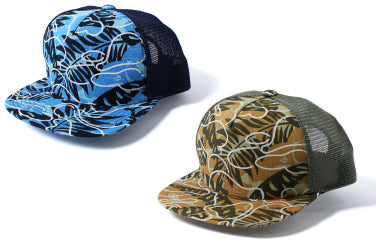 TROPICAL CAMO MESH CAP