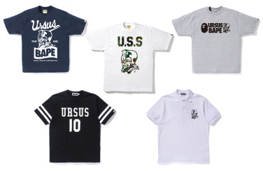 URSUS BAPE NEW ITEMS