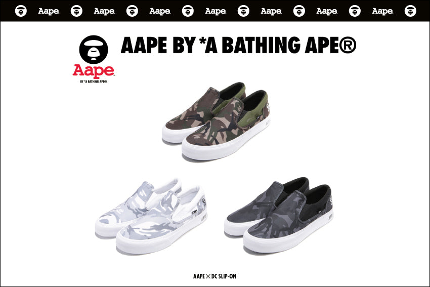 AAPE x DC Shoes Slip-on