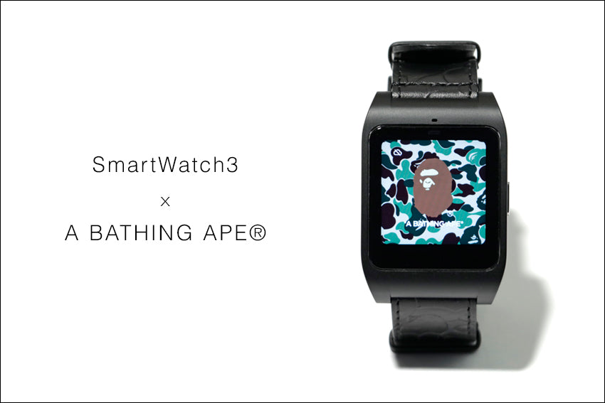 SmartWatch3 x A BATHING APE?