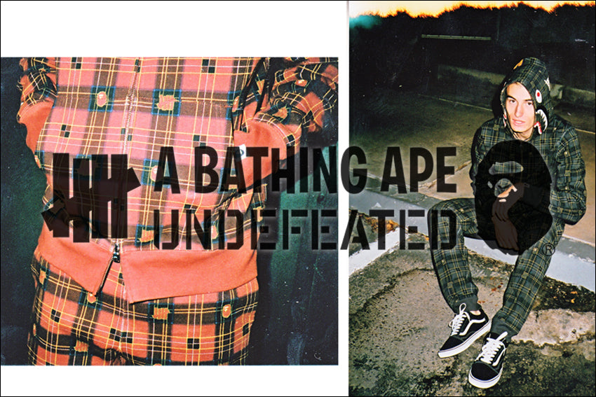 A BATHING APE? × UNDEFEATED