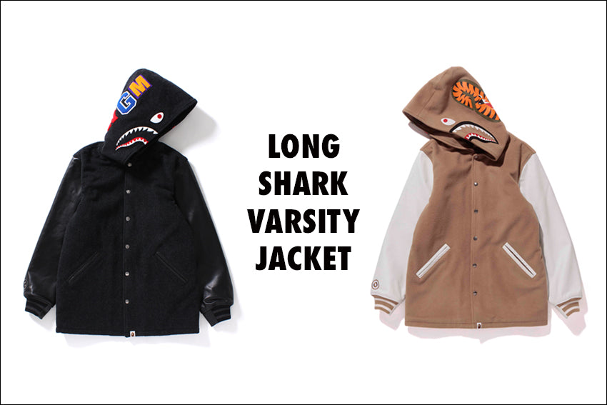 LONG SHARK VARSITY JACKET