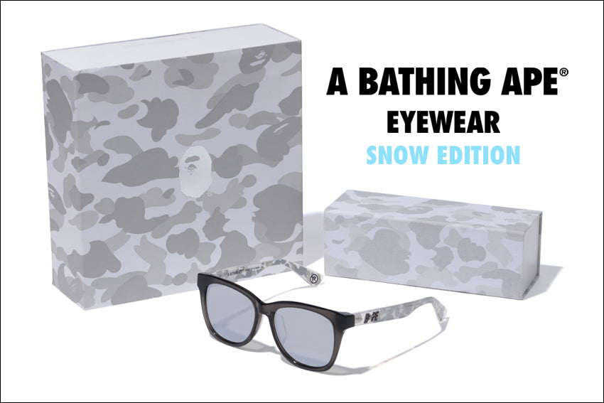 A BATHING APE® EYEWEAR SNOW EDITION