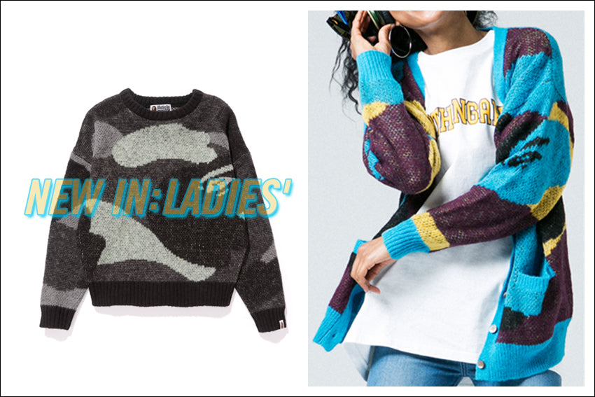 A BATHING APE® LADIES' NEW ITEMS