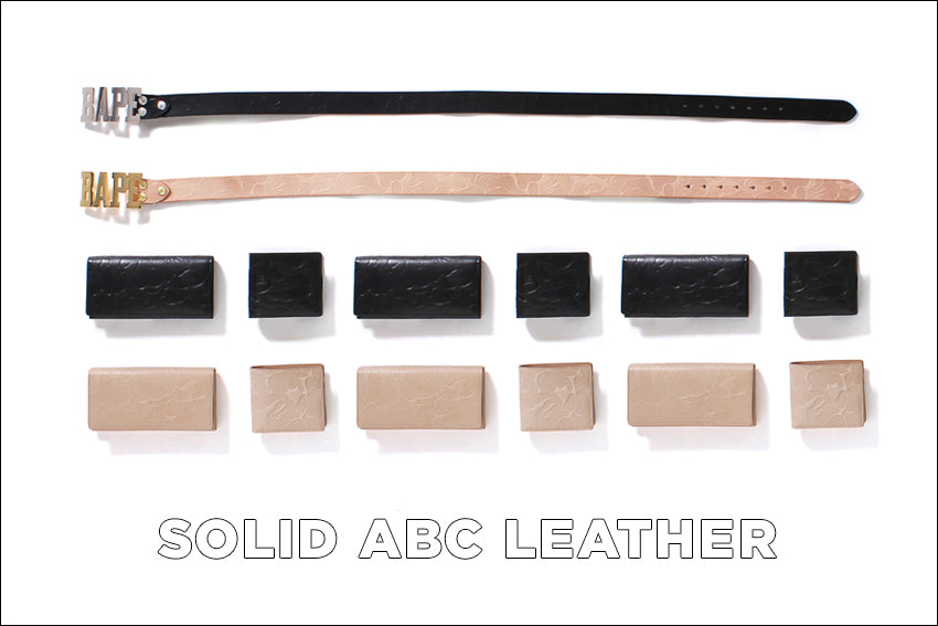 SOLID ABC LEATHER COLLCTION