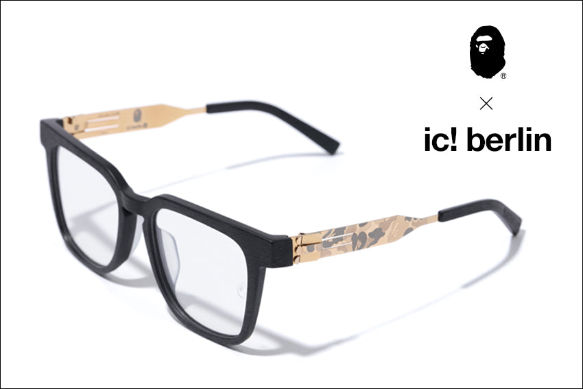 IC!BAPE® 2nd OPTICAL FRAME