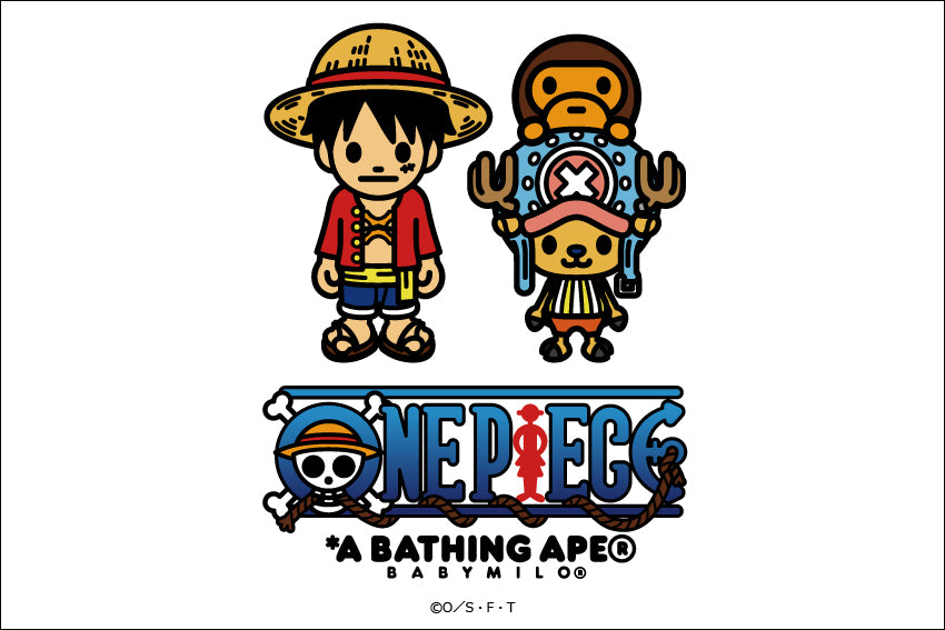 A BATHING APE® x ONE PIECE