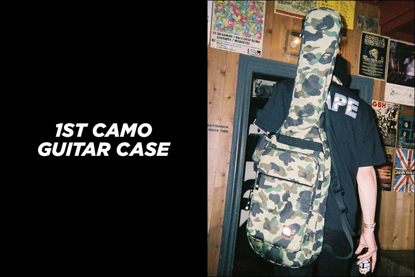 1ST CAMO GUITAR CASE
