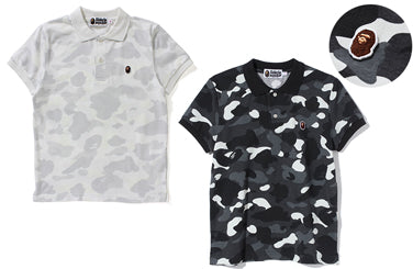 CITY CAMO APE HEAD ONE POINT POLO