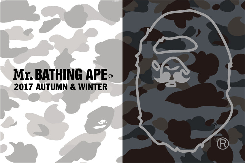 Mr. BATHING APE® 2017 A/W COLLECTION