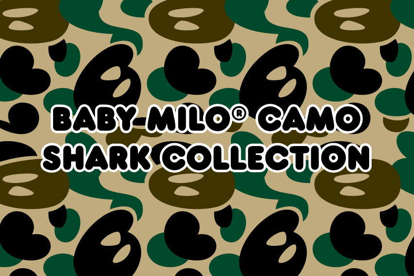BABY MILO® CAMO SHARK COLLECTION
