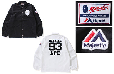 A BATHING APE® x MAJESTIC