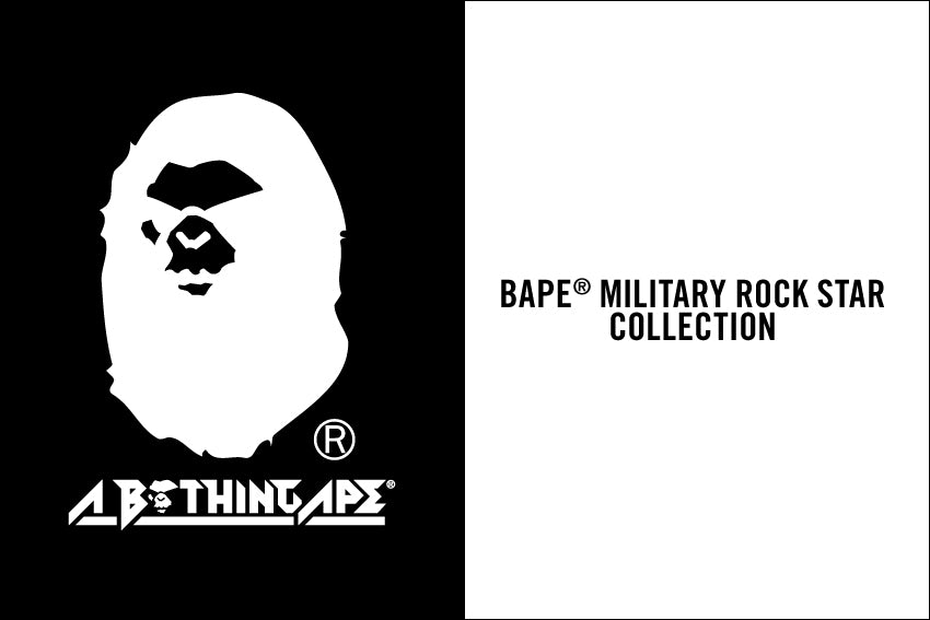 BAPE® MILITARY ROCK STAR COLLECTION