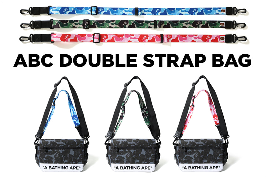 ABC DOUBLE STRAP BAG