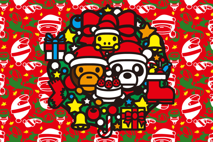 A BATHING APE® CHRISTMAS CAMPAIGN
