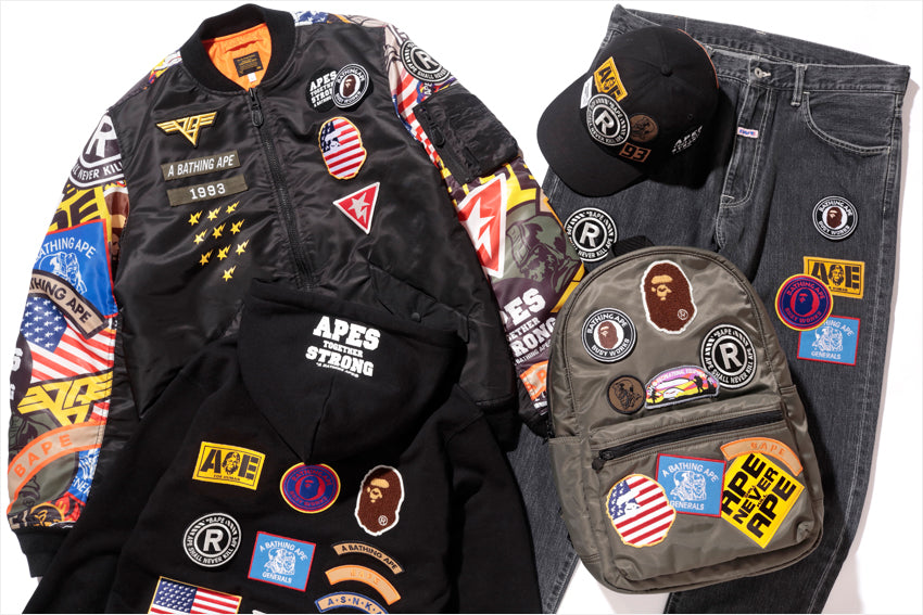 BAPE® PATCHED COLLECTION