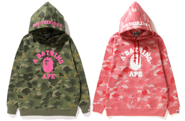 GRADATION CAMO OVERSIZED PULLOVER HOODIE