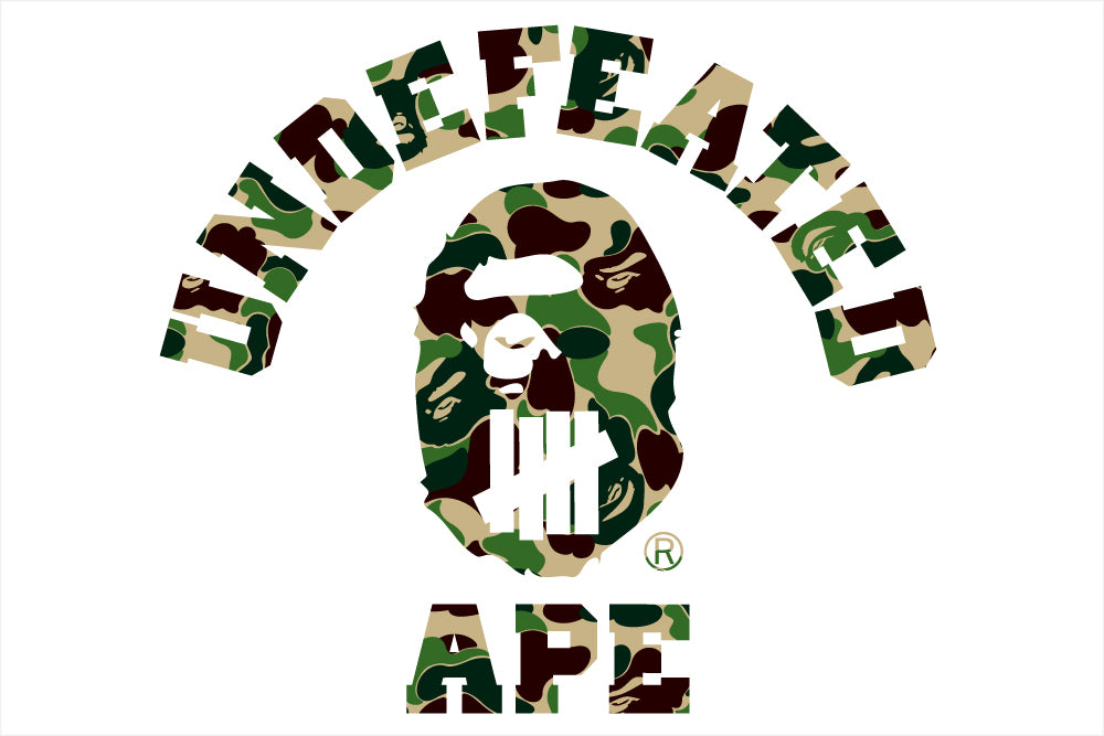 A BATHING APE® x UNDEFEATED