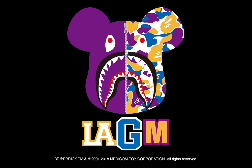"""LOS ANGELES CAMO"" BE@RBRICK"