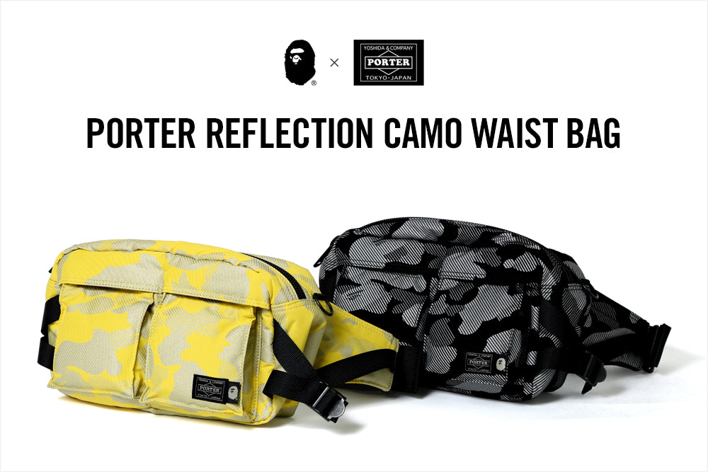 PORTER REFLECTION CAMO WAIST BAG
