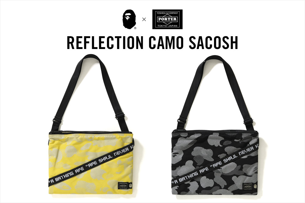 PORTER REFLECTION CAMO SACOSH