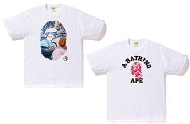 SAKURA APE HEAD PHOTO TEE