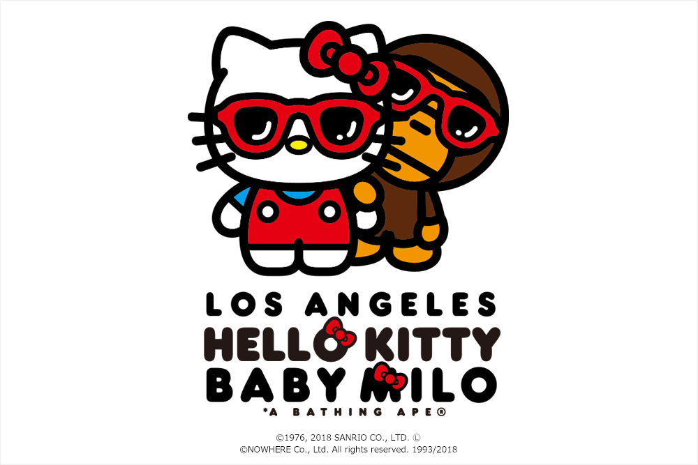 BABY MILO® x HELLO KITTY LOS ANGELES LIMITED TEE