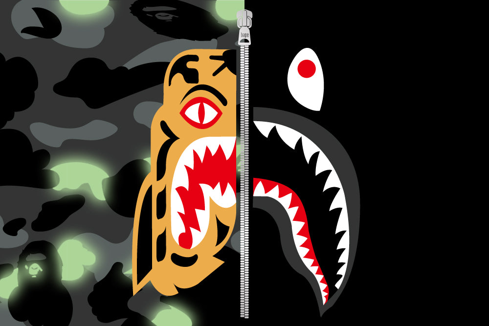 A BATHING APE® TIGER SHARK COLLECTION