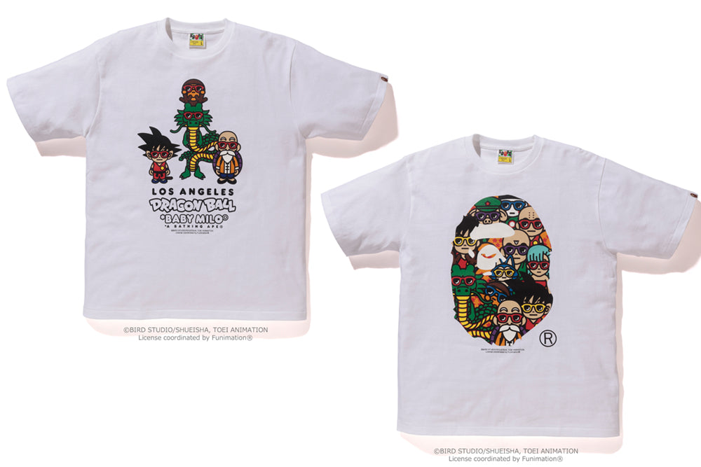 A BATHING APE®xDRAGONBALL LOS ANGELES LIMITED TEE