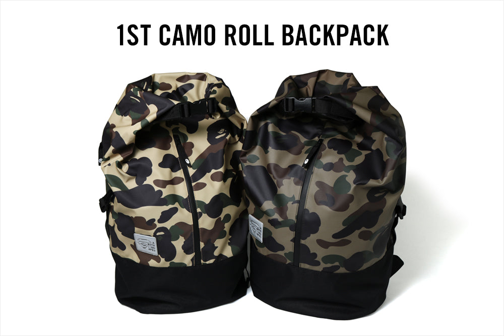1ST CAMO ROLL BACKPACK