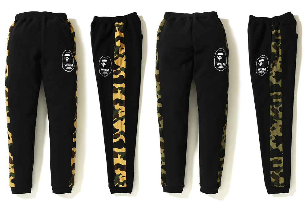 1ST CAMO LINE SLIM SWEAT PANTS