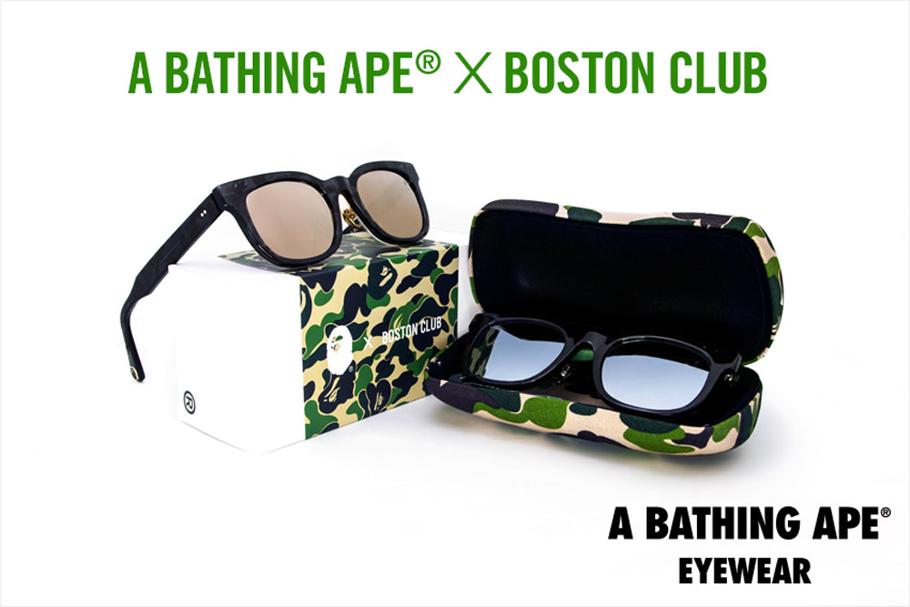 A BATHING APE® x BOSTON CLUB