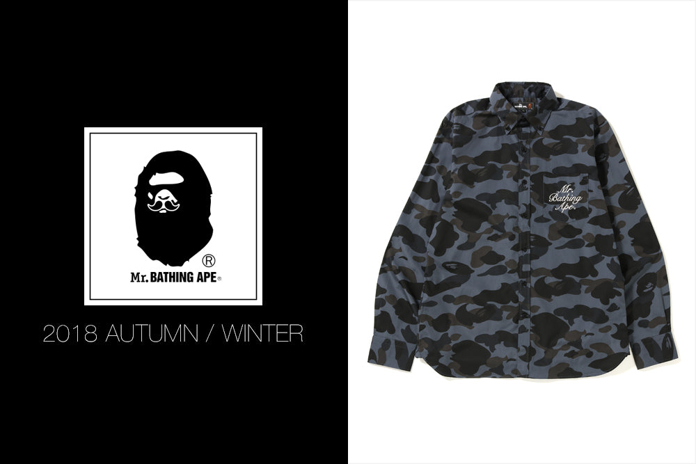 Mr. BATHING APE® 2018 A/W COLLECTION