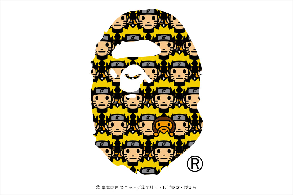 A BATHING APE® × NARUTO