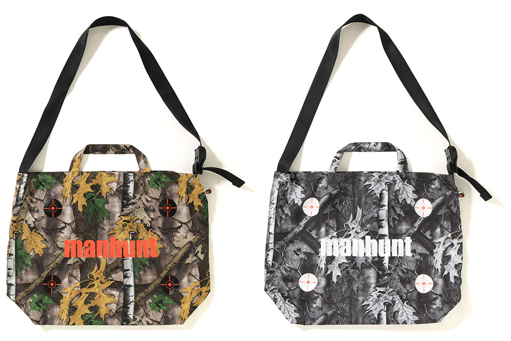 BAPE® FOREST CAMO SHOULDER TOTE