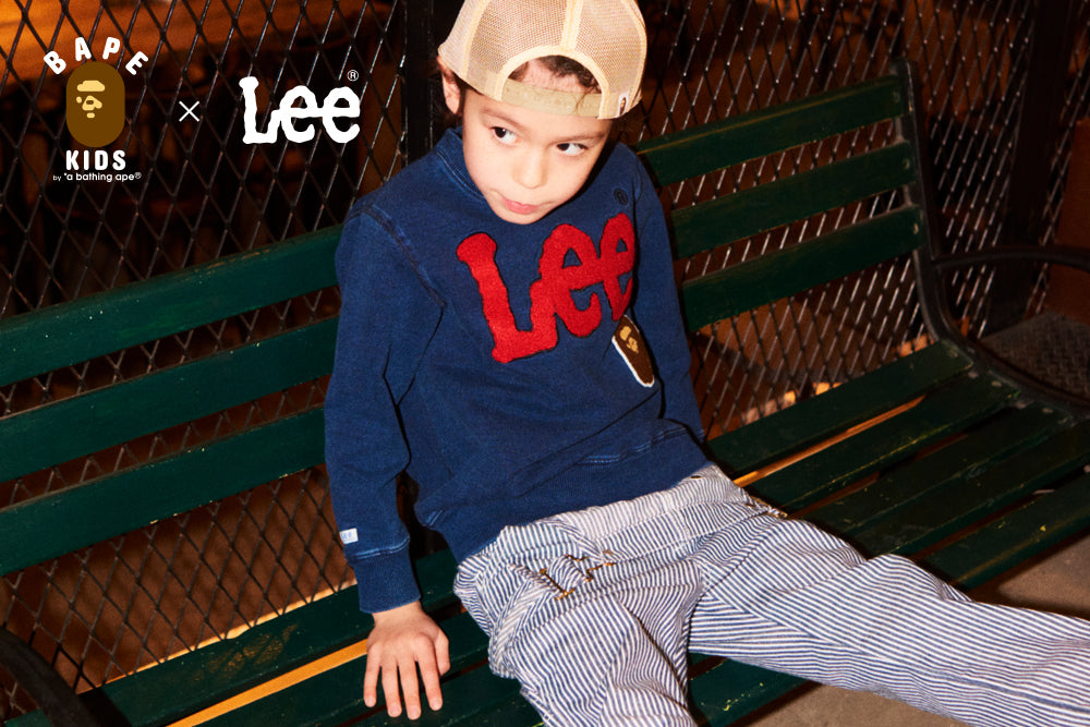 BAPE KIDS® x Lee®