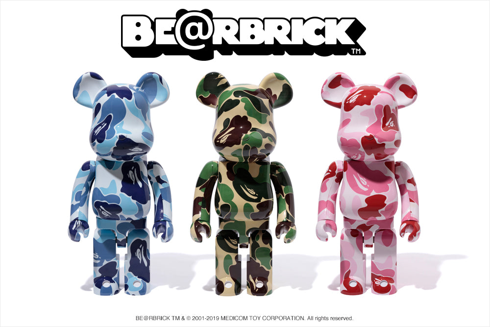 BE@RBRICK ABC CAMO 1000%