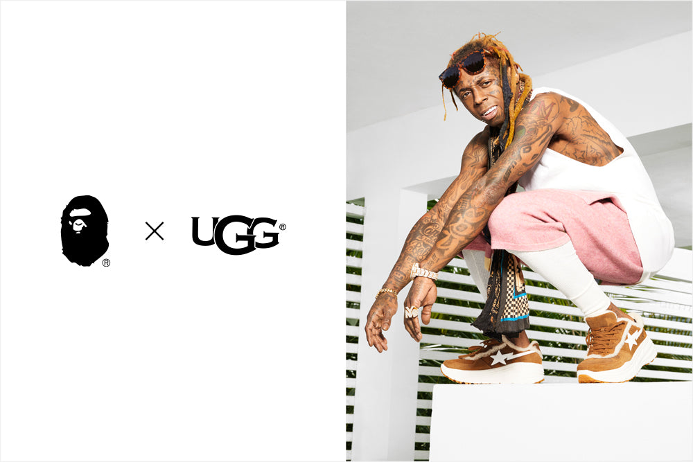 A BATHING APE® × UGG