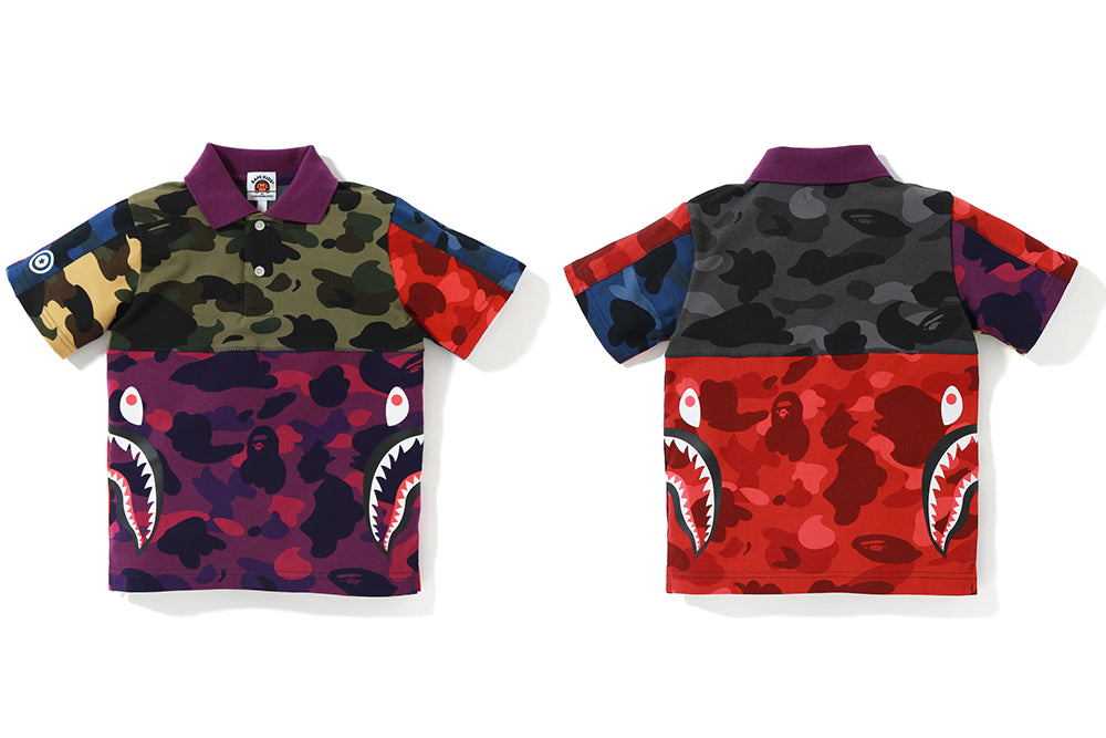 MIX CAMO SIDE SHARK POLO