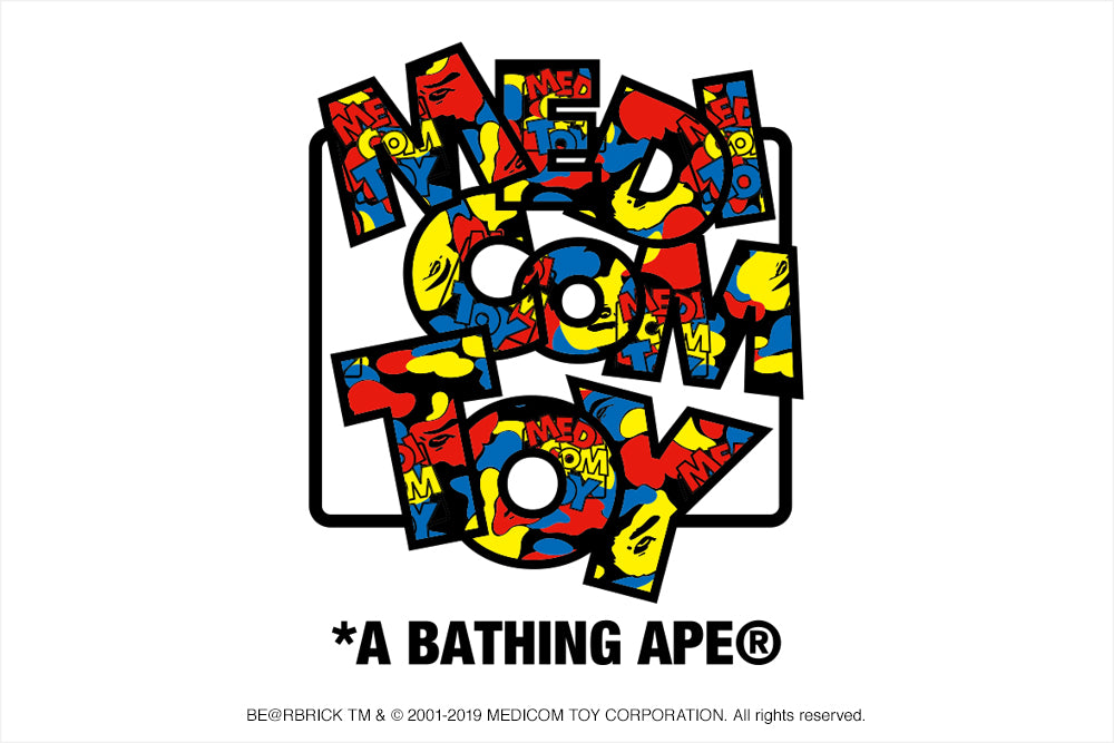 A BATHING APE® × MEDICOM TOY