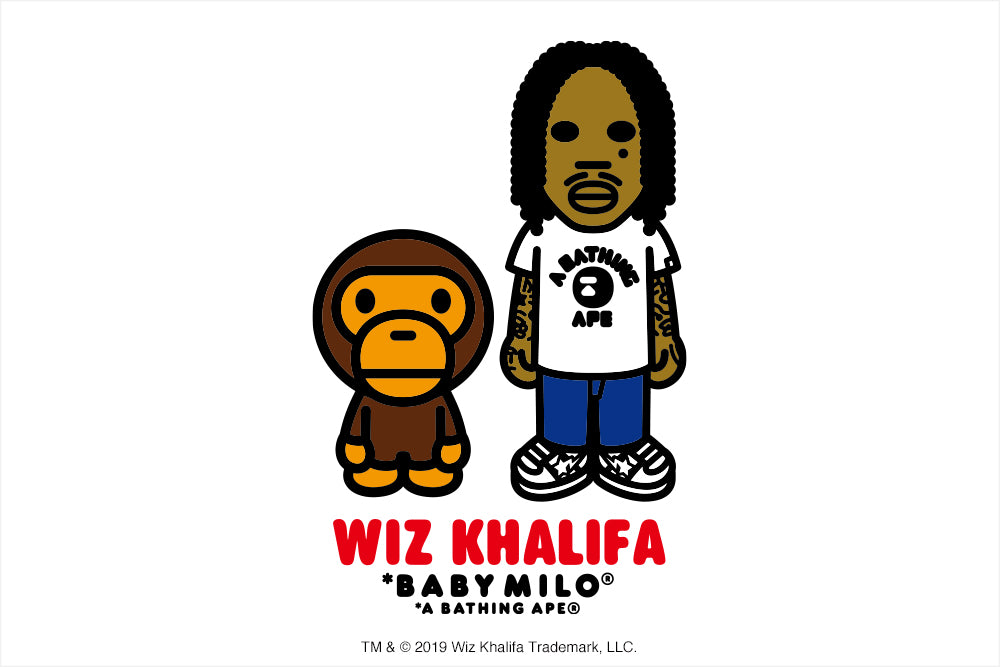 A BATHING APE® x WIZ KHALIFA