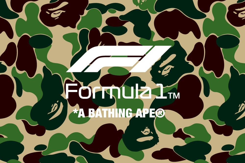A BATHING APE® x FORMULA 1™