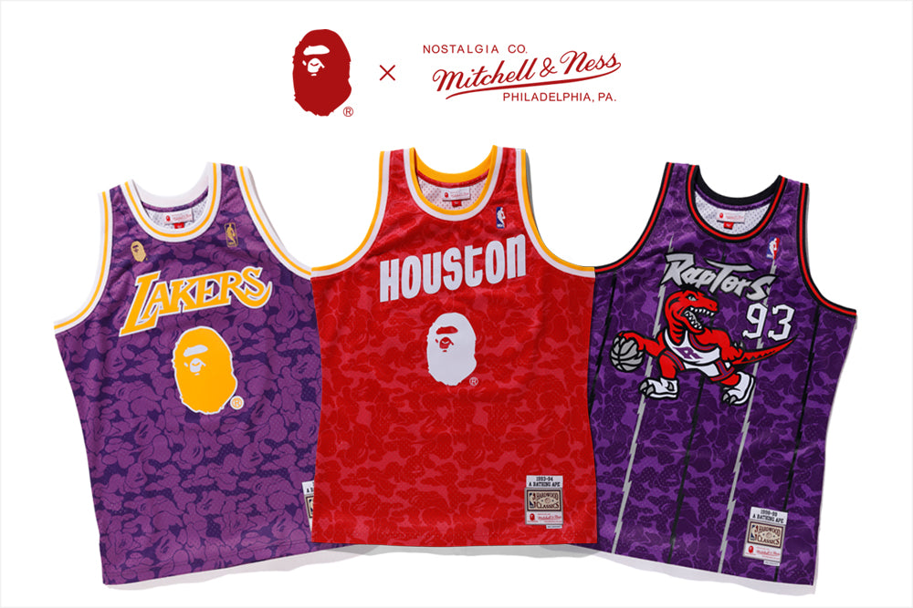 BAPE® x Mitchell & Ness NBA capsule collection