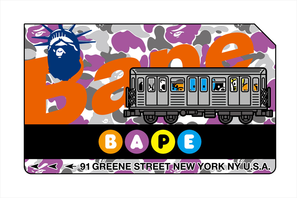 BAPE STORE® NEW YORK 15th ANNIVERSARY