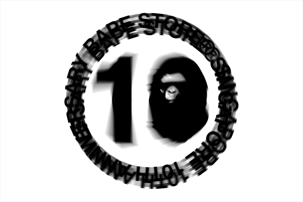 BAPE STORE® SINGAPORE 10TH ANNIVERSARY