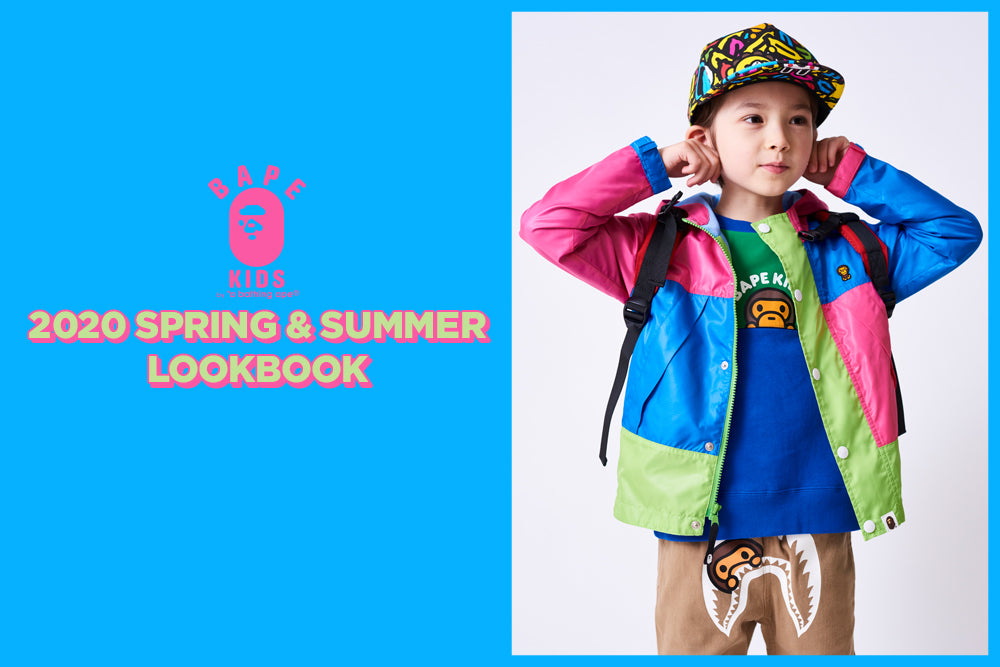 A BATHING APE® 2020 SPRING/SUMMER COLLECTION LOOKBOOK
